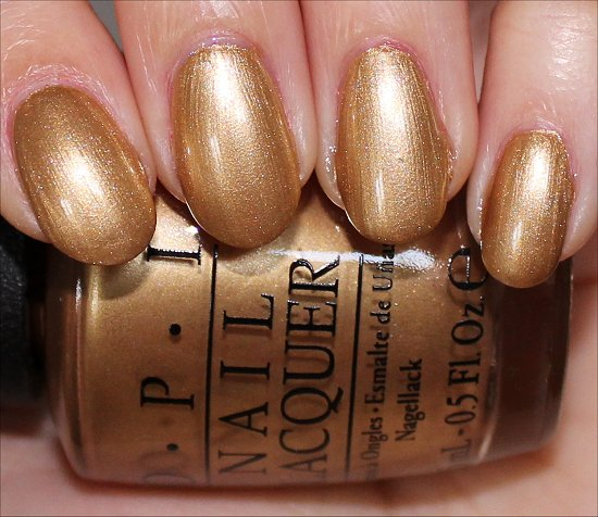 OPI 50 Years of Style Swatch Ford Mustang Swatches