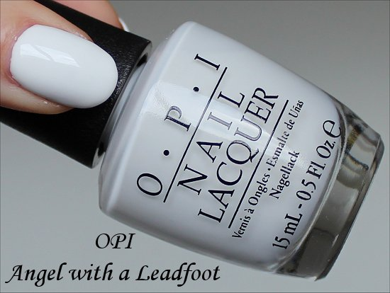 OPI Angel with a Leadfoot Ford Mustang Collection