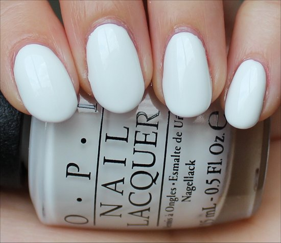 OPI Angel with a Leadfoot Swatches, Review & Pictures