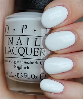 OPI Angel with a Leadfoot Swatches & Review