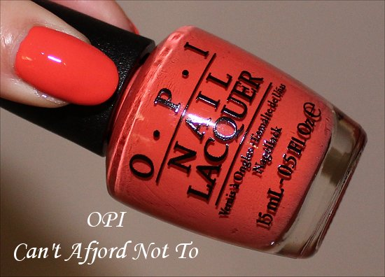 OPI Can't Afjord Not To Nordic Collection Fall Winter 2014