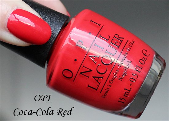 OPI Coca-Cola Red Coca-Cola Collection