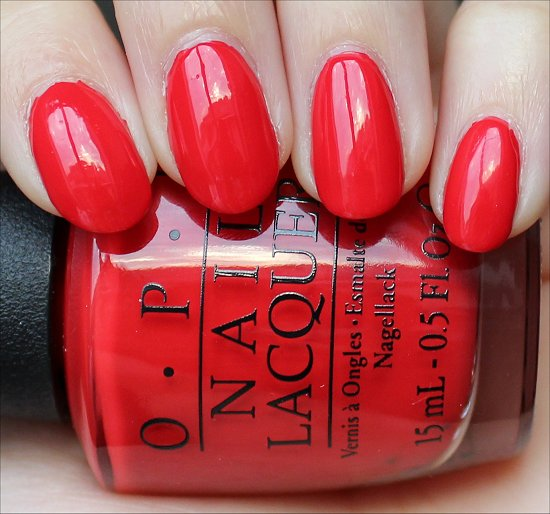 OPI Coca-Cola Red Review & Swatch
