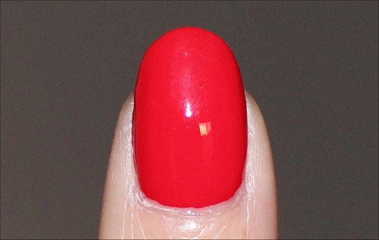 OPI Coca Cola Red Swatch Coca Cola Collection Swatches
