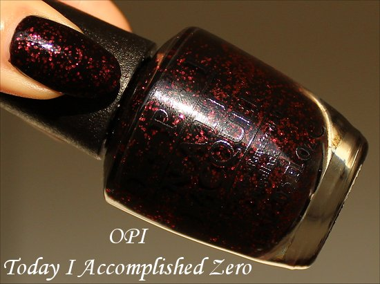 OPI Today I Accomplished Zero OPI Coca-Cola Collection