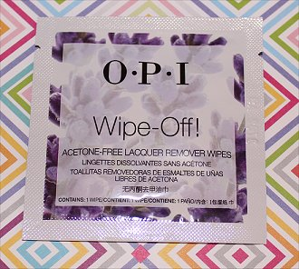 OPI Wipe-Off Wipes Review