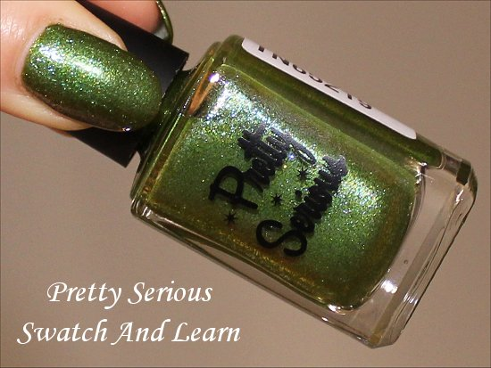 Pretty Serious Swatch And Learn Swatches, Pictures & Photos