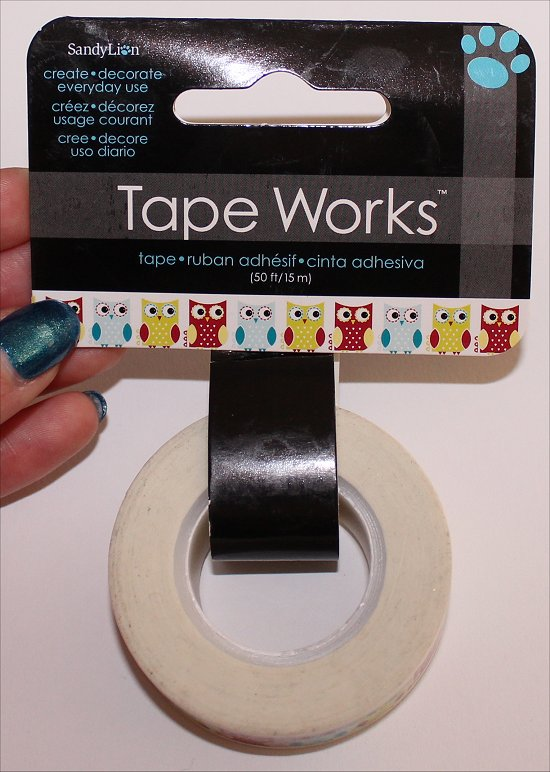 SandyLion Tape Works Owl Washi Tape
