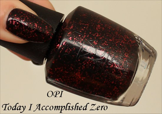 Today I Accomplished Zero OPI Coca-Cola Collection