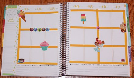 Erin Condren Life Planner Decorating Ideas