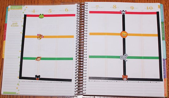 Erin Condren Life Planner Decoration Ideas