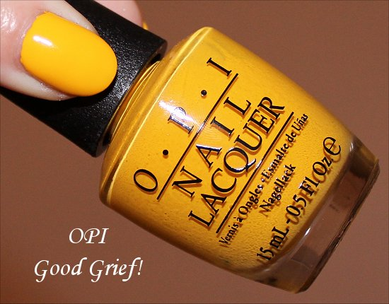 Good Grief by OPI Peanuts Collection