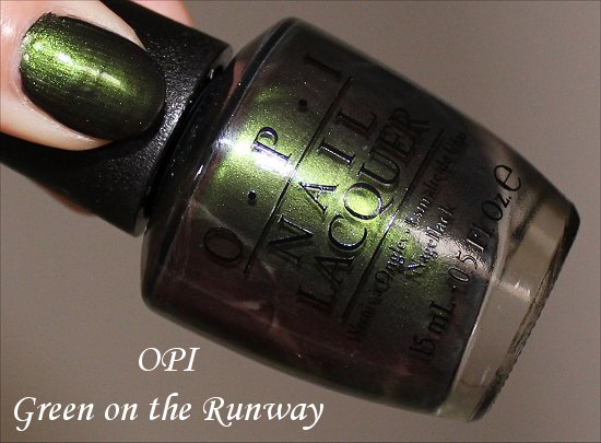 Green on the Runway by OPI