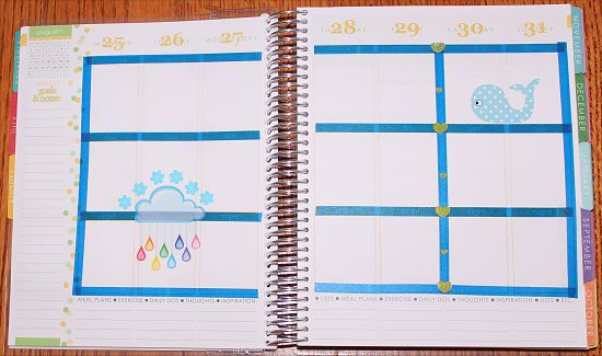 How to Decorate Erin Condren Life Planner