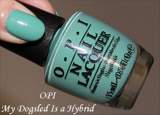 My Dogsled Is a Hybrid OPI Nordic Collection