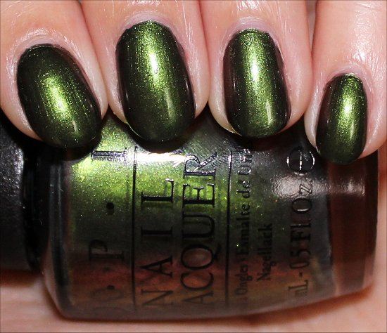 OPI Green on the Runway Review & Swatch