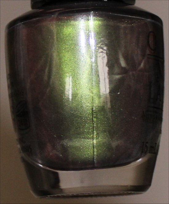 OPI Green on the Runway Swatch & Photos