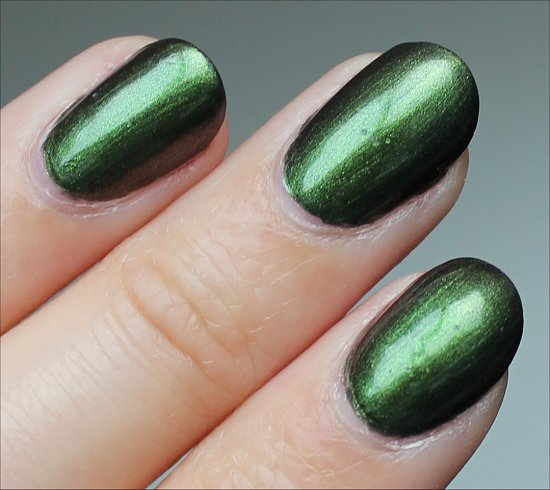 OPI Green on the Runway Swatch & Review
