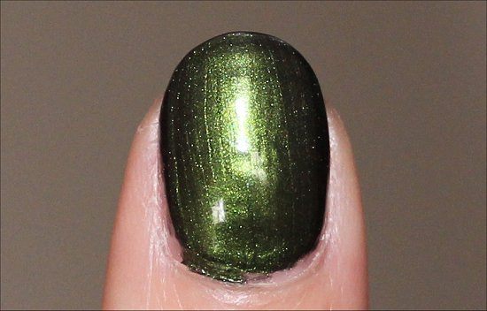 OPI Green on the Runway Swatches & Pictures