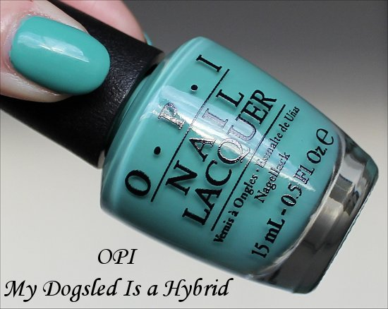 OPI My Dogsled Is a Hybrid Review & Swatches