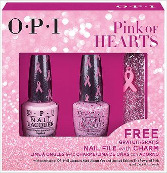 OPI Pink of Hearts 2014