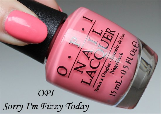 OPI Sorry I'm Fizzy Today OPI Coca-Cola Collection