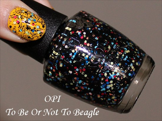 OPI To Be Or Not To Beagle Swatch & Pictures