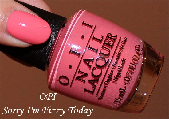 Sorry I'm Fizzy Today OPI Coca Cola Collection