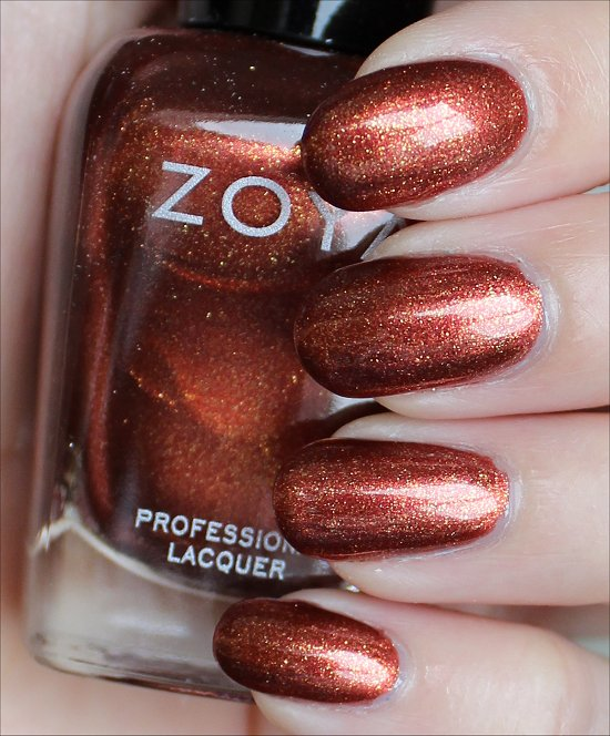 Zoya Autumn Swatches & Review