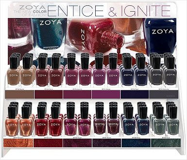 Zoya Entice & Ignite Collection