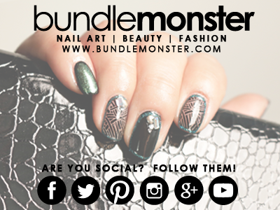Bundle Monster Nail Stamping Collection Sun Kissed
