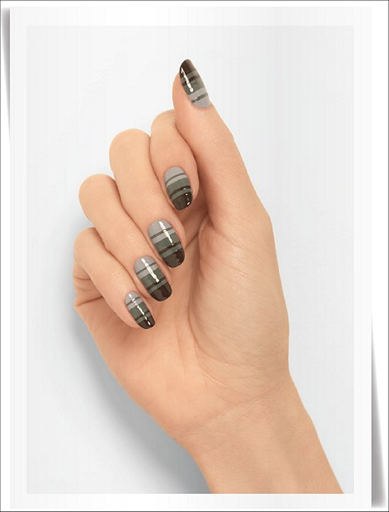 Essie Fall 2014 Collection Nail Art