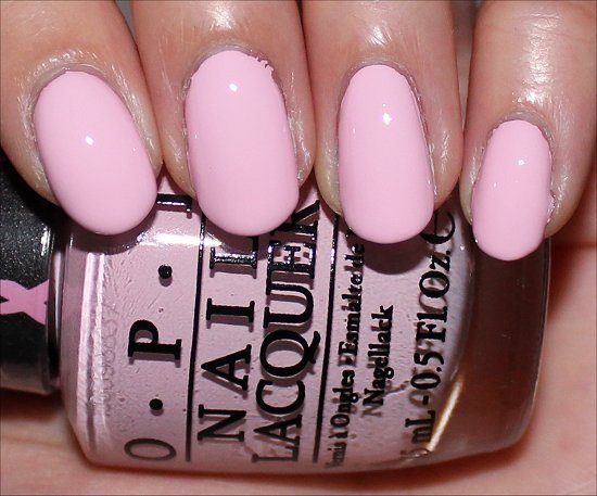 Mod About You by OPI Breast Cancer Awareness Swatches