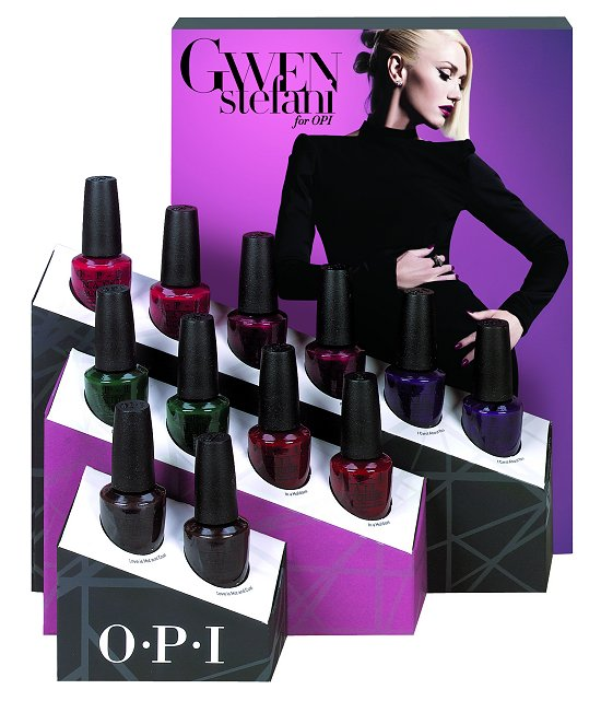 OPI Gwen Stefani Holiday Collection 2014 Classics Display