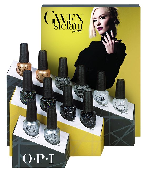 OPI Gwen Stefani Holiday Collection 2014 Special Effects Display