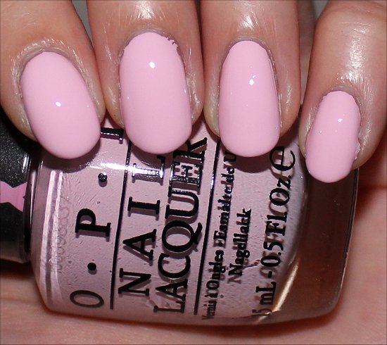 OPI Mod About You Swatch Review Breast Cancer Awareness 2014