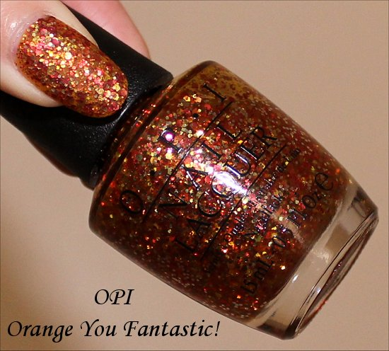 OPI Orange You Fantastic Swatch OPI Coca-Cola Collection Swatches