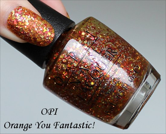 Orange You Fantastic OPI Coca-Cola Collection Swatches
