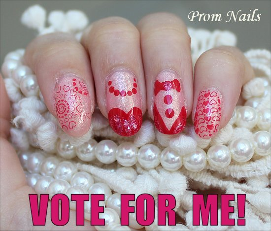 Prom Nails Natural Light for the Blog VOTE