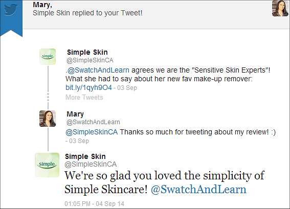 Simple Skincare SwatchAndLearn
