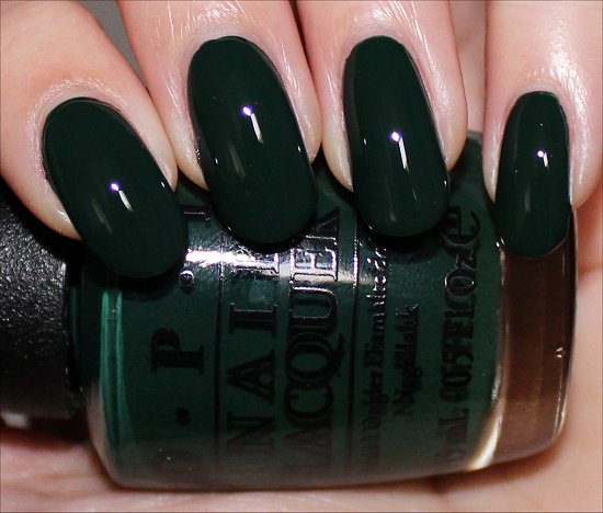 Christmas Gone Plaid OPI Swatch Gwen Stefani Holiday Swatches