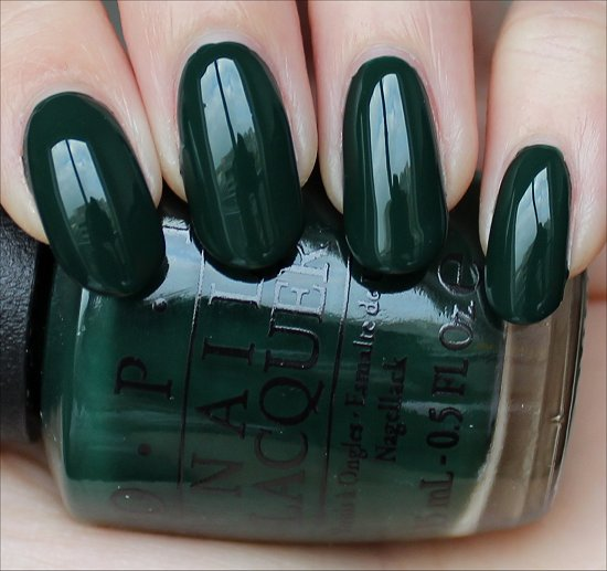 OPI Christmas Gone Plaid Swatch Gwen Stefani Holiday Swatches