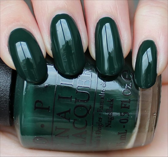 OPI Christmas Gone Plaid Swatch & Review