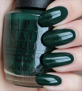 OPI Christmas Gone Plaid Swatches & Review