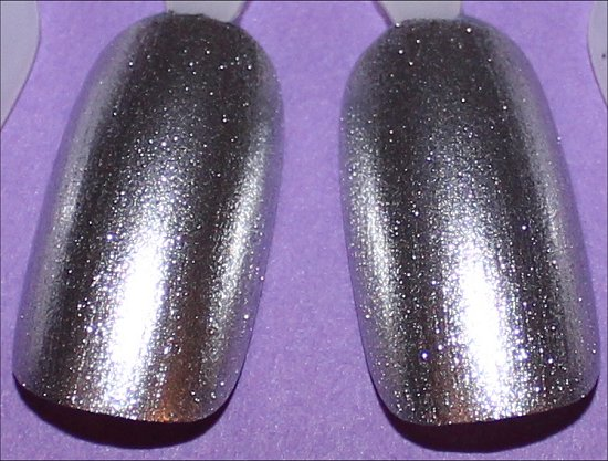 OPI My Signature Is DC & OPI Unfrost My Heart Comparison Swatches