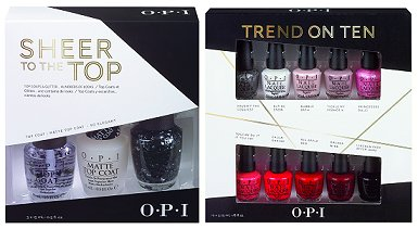 OPI Sheer to the Top & OPI Trend on Ten Gift Set