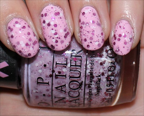 OPI The Power of Pink Pink of Hearts 2014