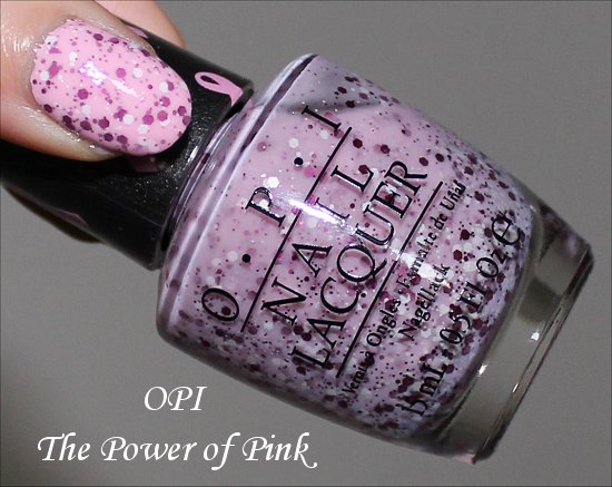 OPI The Power of Pink Swatch, Review & Pictures
