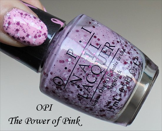 OPI The Power of Pink Swatch & Review