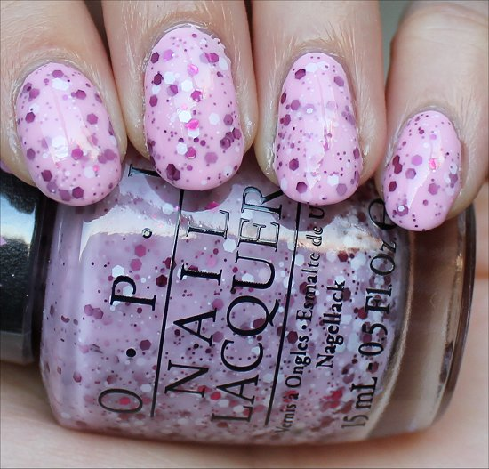 OPI The Power of Pink Swatches
